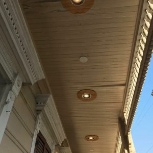 Front Porch Recessed Lighting